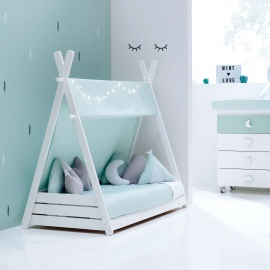 Cama Montessori HOMY-XL 055 MINT 90x200 Alondra